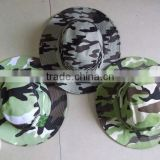 PRO Tactical Woodland Camo Fishing Hunting Army Marine Bucket Jungle Cotton Cap Military Boonie Hat