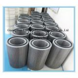 Antistatic coating polyester filter cartridge