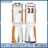 2017 wholesale sublimation european basketball uniforms jerseys design
