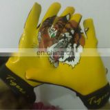 American footbal gloves