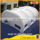 White inflatable tunnel tent for wedding, party and events