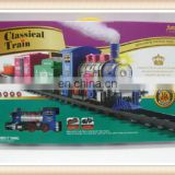 Hot sale kids railway toy, plastic train toy