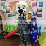 Spot Dog Animal Fur costume for adult ware