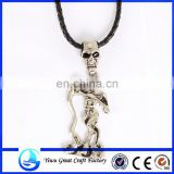 2014 new design skull captain pirate necklace