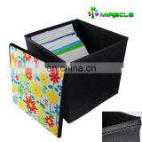 Sublimation Blank Foldable Storage Box,Multi-Function storage box