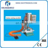 High quality full auto Pneumatic badge making machine