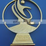 Excellence Awards School Sports Meet Awarded Honor Trophy, Cut Out Metal Trophy