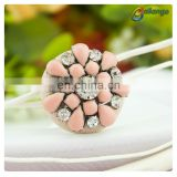 Wholesale fancy designer coat clothing buttons beaded buttons custom made plastic buttons crafts for clothing