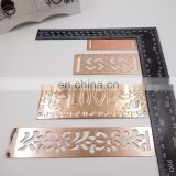 metal buckle for dress fashion buckle for lady belt gold ribbon slider apparel accessories for lady shoe buckle