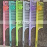 Plastic comb design gel pen