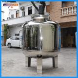 Urea mixing tank for vehicle fertilizer and pesticide mixing tank