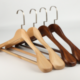 Angie Hot selling wooden coats hanger