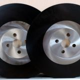 metal cutting tools saw blade forwith round and box pipe in black steel and galvanized steel