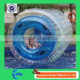 2015 Hot Sale blue colour inflatbale water walking roller for sale                                                                         Quality Choice
