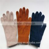 2016 winter warm five fingers pure color knited gloves                                                                         Quality Choice