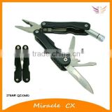aluminum and ABS handle multi tool with led torch