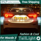 AKD Car Styling Tall Lamp for Mazda 3 DRL New Mazda 3 LED DRL 2016 Mazda 3 LED Tail Light Good Quality LED Fog lamp