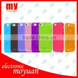 7 Colors/Lot Ultrathin Design 0.5mm Matt Frosting Skins Cases Covers For iPhone 5 5G Cell Phone Accessories