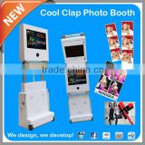 2014 Hottest Unlimited 3D Background Green Screen Portable PhotoBooth For Wedding Photography