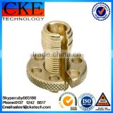 CNC Machined Brass Threaded Sleeve Bushing