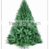 HOT SALE! Artificial Christmas tree /7FT PVC material Christmas decoration metal stand Christmas tree