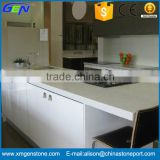 Beautiful White Quartz Stone Kitchen Decoration Vanity Tops