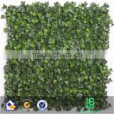 Fake lawn leaf fence green plastic Artificial Faux Ivyleaf fence decorative turf artificial leaf fence                                                                         Quality Choice