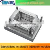 718H steel Single cavity turnover basket moulds/OEM ordinary plastic shopping basket mould/ mould basket