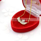 Jewelry manufacturer china accessories for women stainless steel best friend necklaces                                                                                                         Supplier's Choice