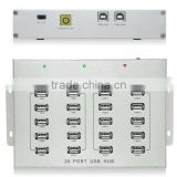Industrial Product 20 ports usb hub with High Power Adapter                                                                         Quality Choice