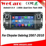 Wecaro WC-JC6235 Android 4.4.4 gps HD for chrysler sebring digital screen car dvd player 2007 - 2010 Wifi&3G