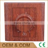 A series red wood series rotary fan switch, rotary speed controlled switch                                                                                                         Supplier's Choice