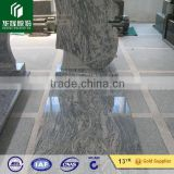 stone carving flower and crosscolor monument slab shanxi black absolut tombstone cheap granite