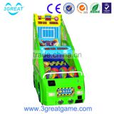 Popular amusement park indoor basketball game machine