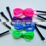 Plastic Skipping Rope Jumping Fast Speed Gym Training Sports Exercise 2.5M 4color New