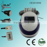 Portable 5 in 1 40k cavitation ultrasonic with laser and radio frequency beauty salon equipment