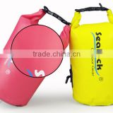 Wholesale Ocean pack PVC Waterproof dry bag with shoulder strap for boating waterproof bag for swimsuit