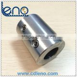 19.05mm internal bore stainless steel rigid coupling