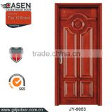 contemporary design 5 panels cherry veneer wood doors polish exterior wood doors lowes online