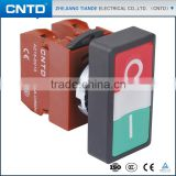 CNTD Most Profitable Products Bi-Color Led Double Push Button Switch With Lamp 220V                                                                         Quality Choice