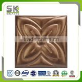PVC Laminated 3d leather ceiling tiles