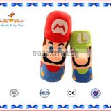 Super mario head shaping baby pillow baby floor pillow patterns