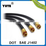professional manufacturer type a sae j1402 truck air brake hose with brass fittings