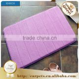 Anti-slip Pvc polyester memory foam bathroom carpets and rugs / drawing room carpet                                                                         Quality Choice