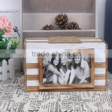 W14112-1 home decoration items wood box photo frame use hold letter