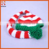 Christmas holiday decorative crochet knitting baby hat