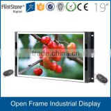15, 19 inch TFT LCD HD POS monitor, industrial USB powered LCD touch screen monitor, HDMI VGA input open frame touch monitor