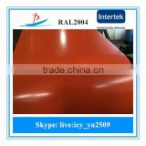 Prepainted galvanized steel sheet in coil with good quality well sold in Korea for corrugated plate