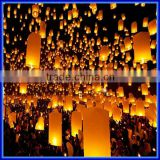 Wish Lamp Kongmin Lights For Festival/Wedding Balloon Oval shape Sky Lanterns