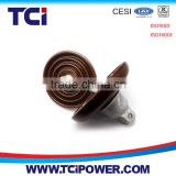 ANSI Disc 11KV porcelain insulator for electrical line
